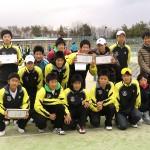 平成23年ニューイヤー選抜高校テニス団体対抗大会