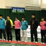JOCジュニアオリンピックカップ第31回全日本ジュニア選抜室内テニス選手権大会