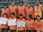 平成25年度全国選抜高校テニス大会男子優勝女子準優勝
