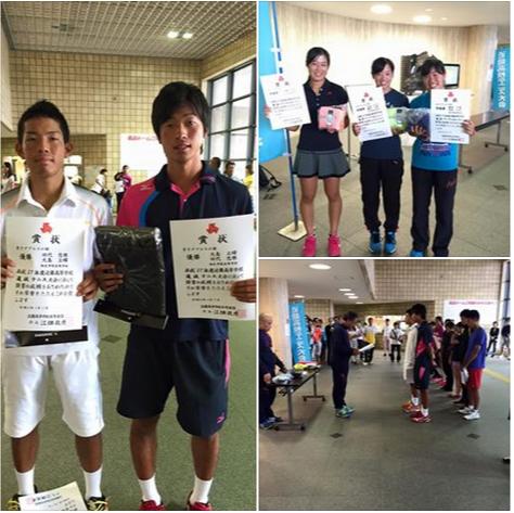 近畿高等学校選抜テニス大会 個人戦 於:長浜ドーム