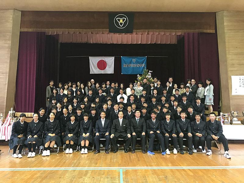 11回生入学式|相生学院高等学校テニス部