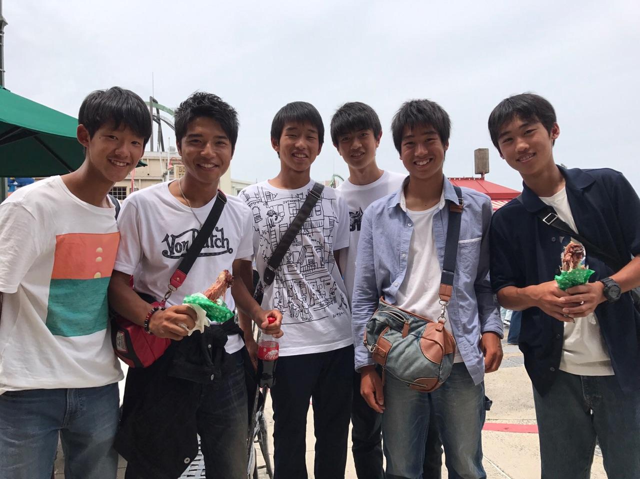 校外学習でUSJに|相生学院高等学校テニス部