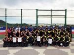 全国選抜高校テニス大会近畿地区大会 集合写真